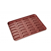 PTFE Non Stick 600x400x33mm Hot Dog Bun Baking Pan Manufactures