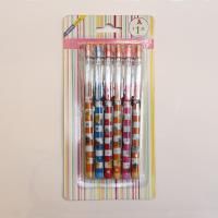 Standard Non-Sharpening Pencil 9 leads for kids with blister card Manufactures