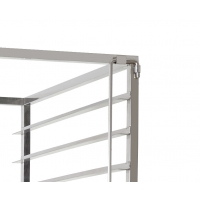 Fifteen Shelves 460x610x1780mm Stainless Steel Trolly Manufactures