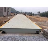 Vehicle Weight Scale Electronic Weighbridge / Portable Weighbridge 5s Stable Time Manufactures