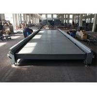 Car Weighing Pit Type Weighbridge 8 Load Cell Capacity Stable Performance Manufactures