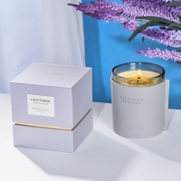 180G Glass Jar Luxury Organic Aromatherapy Candles Manufactures