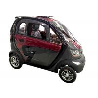 240Kg Economic Electric Cars , 60V1200W Motor Steering Wheel Automatic Electric Car Manufactures