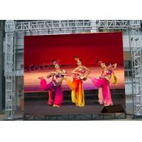 Buy cheap P4 Outdoor Portable LED Screen,P4.81 Stage Background Led Video Wall Rental from wholesalers