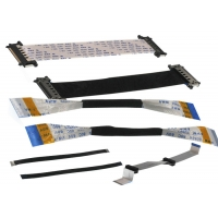 Explosion Proof ZIF 36 AWG 80mm Flat Flex Cable Manufactures