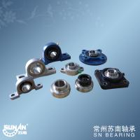 Chrome Steel Gcr15 Ball Bearing Unit With Set Screws Locking Or Eccentric Locking Collar Manufactures