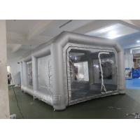 Environmental Mini Blow Up Spray Booth For Car Cover / Automotive Paint Booth Manufactures