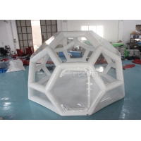 Airtight 4M Football Shaped Inflatable Bubble House Manufactures