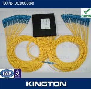 Buy cheap Low cost PLC splitter, 1x4,1x8,1x16,1x32,1x64 from wholesalers