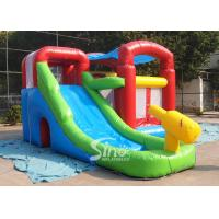 Kids inflatable combo water bounce house with pool N water gun made of best pvc tarpaulin Manufactures