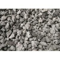 High Carbon Pitch Coke , Green Delayed Petroleum Coke As Auxiliary Additive Manufactures