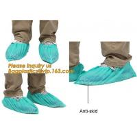 Disposable Blue waterproof rain boot/shoe covers,rain cover for shoes,Eco-friendly Professional Shoe cover made in China Manufactures