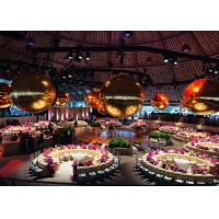 Advertising Large Decorative Mirrors Inflatable Mirror Ball Colorful Mirror Balloon For Event Party Manufactures