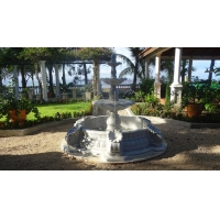 Garden stone white fountains,home white marble park stone fountain ,China stone carving Sculpture supplier Manufactures