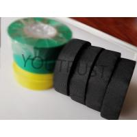 Buy cheap Flame Retardent Adhesive Cloth Tape , Black Fabric Tape For Repairing Indoor And from wholesalers