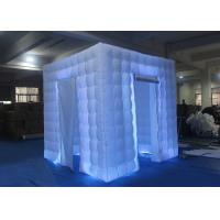 Flexible Inflatable Photo Booth -20 To 60 Degrees Working Temp With Curtain Manufactures