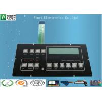 Buy cheap Clear LED Window Polydome Push button Embossing Membrane Switch Overlay With Pin from wholesalers