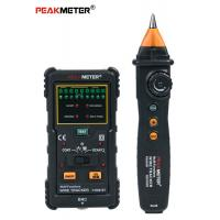UTP And STP Cable Line Tester Electrical Wire Tracer High Precision Stable Performance Manufactures