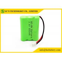 Long Service Life 3.6 V NIMH Battery Pack / 3.6 Volt 800mah Phone Battery Manufactures