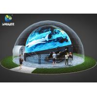 360 Mmersive Projection Dome Movie Theater With 16 Chairs Built On Playground Manufactures