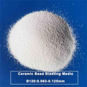 Microsphere Ceramic Bead Blasting B120 For Titanium Alloy Manufactures
