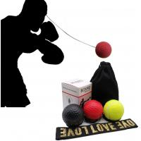 Amazon hot Boxing Reflex Speed Ball with Headband Thai Fight Ball for Drop Shipping Exercise Improving Speed Reactions Manufactures
