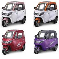60V 58Ah Battery Long Travel Passenger Electric Tricycle Manufactures