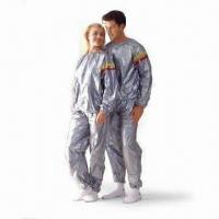 Sauna Suit, Made of PVC, Suitable for Taking Excess Weight and Inches Off Wearers Manufactures