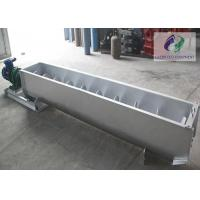 Stainless Steel Auger Feed Screw Conveyor Used In Chemical Industry Manufactures