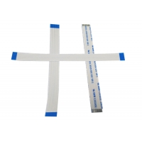Strip Shape 0.5mm 8 Pins 28 AWG FPC Flat Cable Manufactures