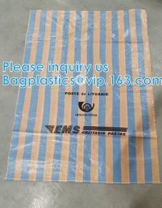PP Woven EMS Post bags, mailer mailing postal bags, drawstring Jumbo Vacuum Storage Valve Bags,100% Virgin Bulk Bag Manufactures