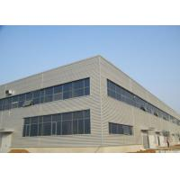 Waved wall panel fireproof glass wool steel structure workshop Manufactures