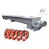 Buy cheap Steel Structure U Trough Screw Conveyor / Stable Concrete Screw Conveyor from wholesalers