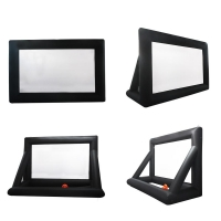 Buy cheap Outdoor Inflatable Movie Screen Removable Portable Air Projector Screen from wholesalers