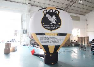 Custom Outdoor Giant Balloon Advertising Grand Inflatable Ground Advertising Balloons With Logo For Advertisement Manufactures