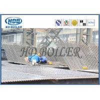 Steel Boiler Water Wall Membrane Type For CFB With Natural Circulation Manufactures
