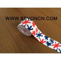 Buy cheap Easy Tearing Rich Ink Printed Sports Tape With Serrate Side And Good Adhesive from wholesalers