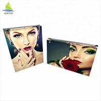 Buy cheap Magnetic Custom Acrylic Frames Transparent Clear Acrylic Block Frame For Photos from wholesalers