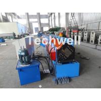 Buy cheap Metal Stud And Track Roll Forming Machine , Sheet Metal Roll Former For Roof from wholesalers