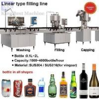 Linear Type Carbonated Soft Drink Filling Machine Manufactures