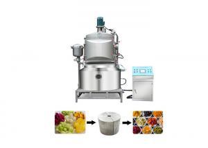dia 700mm 3kw SS304 Snack Vacuum Deep Fryer Machine Manufactures
