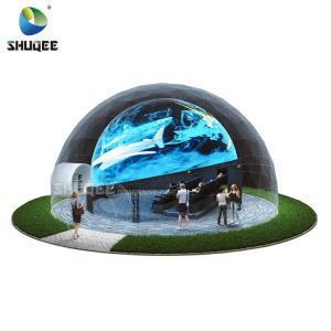 Big Profit Business 14 People 5D Cinema Dome Projection Built On The Playground Manufactures