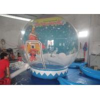 Decoration Christmas Inflatable Model , Inflatable Bubble Ball  For Showing / Festivals Manufactures