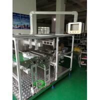 Buy cheap Powerful Non Woven Mask Making Machine Taiwan Delta PLC System , Folding Rate from wholesalers