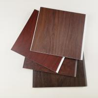 Buy cheap High Quailty Dark Wooden Color PVC Wall Panels for Hotel or Home from wholesalers