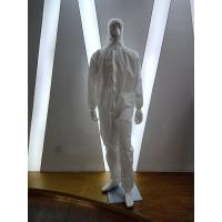 Non Woven  Disposable Isolation Gown / Disposable PPE Coveralls Manufactures