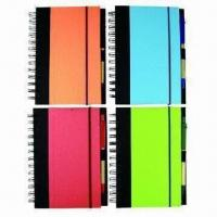 Notebooks, Eco-friendly, OEM Orders are Welcome, Customized Designs are Accepted Manufactures