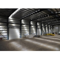 Welded H Beam Q235B Gable Frame Steel Structure Building Manufactures