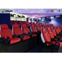 Dynamic Electric 9D Movie Theater For Commercial Shopping Mall / 9D Action Cinemas Manufactures