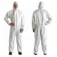 customized size Disposable Isolation Gown / Coverall Protective Clothing Manufactures